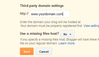 DO YOU KNOW YOU CAN MAP YOUR DOMAIN NAME TO YOUR BLOG?